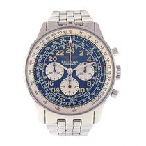 Breitling Cosmonaute Stainless Steel Mechanical Chronograph...