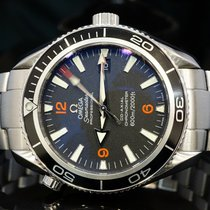 Omega 2009 42mm Seamaster Planet Ocean, 22015100, Box & Papers