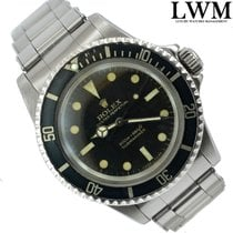 Rolex Submariner 5513 Bart Simpson glossy gilt dial 1967