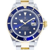 Rolex Submariner 16803 Watch with 18k Yellow Gold, Stainless...