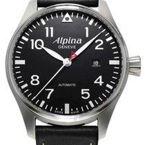 Alpina 44mm nieuw Startimer Pilot Automatic Zwart