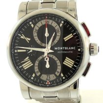 Montblanc Star 4810 Acero 44mm Negro Romanos