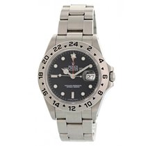 Rolex 16570 Steel 2002 Explorer II 40mm pre-owned United States of America, New York, New York