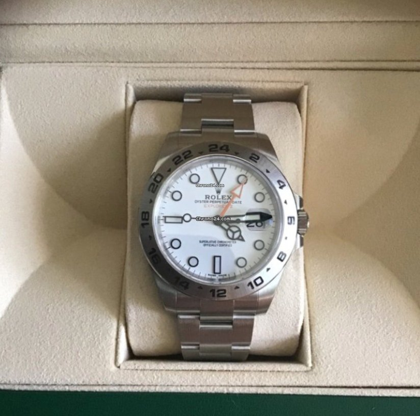 ed9cdfa4aac Rolex EXPLORER II WHITE 216570 [NEW 2019] for $8,984 for sale from a Seller  on Chrono24