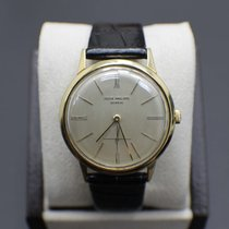 Patek Philippe Calatrava Yellow gold 34mm Silver United States of America, California, San Diego