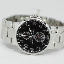 Ulysse Nardin Marine Chronometer 41mm Сталь 41mm Чёрный