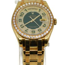Rolex Day-Date Yellow gold 39mm Green No numerals United States of America, New York, New York