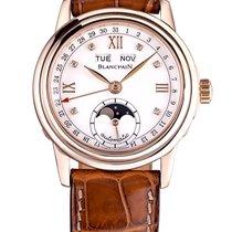 Blancpain Женские часы Léman Moonphase 34mm Автоподзавод подержанные Часы с оригинальной коробкой