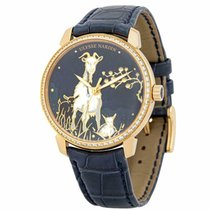 Ulysse Nardin Classico Yellow gold 40mm Blue United States of America, Florida, Miami
