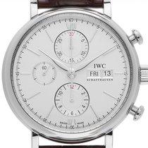 IWC Portofino Chronograph Stahl 42mm Silber Deutschland, Stuttgart