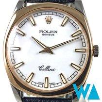 Rolex Cellini Danaos Fehérarany 38mm Fehér Számjegyek nélkül
