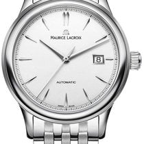 Maurice Lacroix Stål 40mm Automatisk LC6098-SS002-130-1 ny