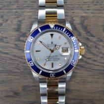 Rolex 16613 Goud/Staal 1997 Submariner Date 40mm tweedehands