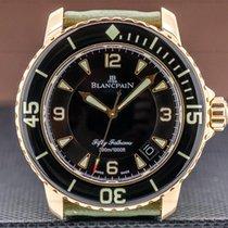 Blancpain Roségull 45mm Automatisk 5015-3630-52 brukt