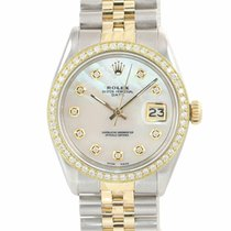 Rolex 15000 Steel Oyster Perpetual Date 34mm pre-owned United States of America, New York, Huntington