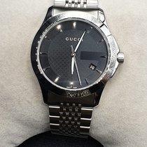 Gucci G-Timeless Сталь 38mm Cеребро