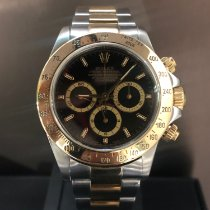 Rolex Daytona 16523 Very good Gold/Steel 40mm Automatic