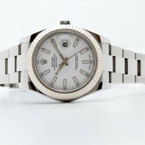 Rolex Datejust II Steel 41mm White No numerals United Kingdom, Oxford