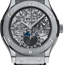 Hublot Classic Fusion 42mm Moonphase Titanium Automatic Watch