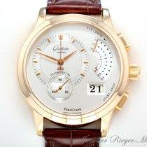 Glashütte Original Panograph Rosegold 750 Handaufzug 61-01-01-...