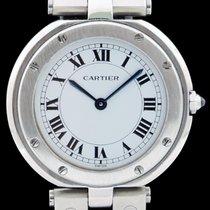 Cartier Santos (submodel) Acier 32mm Blanc Romain France, Bordeaux