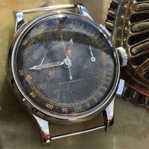 Angelus Vintage Chronograph 'Tropical' dial two register
