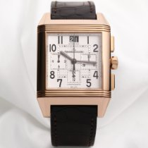 Jaeger-LeCoultre Reverso Squadra Chronograph GMT Rose gold 35mm