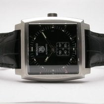 TAG Heuer Monaco Stainless Steel Mens Watch Model #ww2110...
