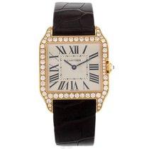 Cartier Santos Dumont WH100351 18K Rose Gold Ladies Watch (14069)