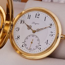 Longines Savonette Pocket Watch 14K Solid Gold 1918