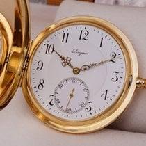 Longines Savonette Pocket Watch 14K Solid Gold 1918