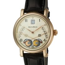 Martin Braun Rose gold Automatic Champagne 39mm pre-owned