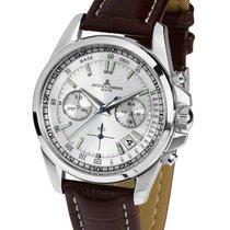 Jacques Lemans Chronograph 40mm Quartz new Sport Liverpool Silver