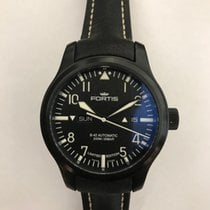 Fortis new Automatic Display Back Luminescent Numerals Luminescent Hands Limited Edition Luminous indexes PVD/DLC coating 42mm Steel Sapphire Glass