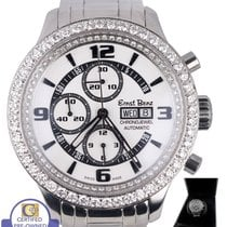Ernst Benz Chrono-Jewel Chronograph GC10122DD Diamond Stainles...
