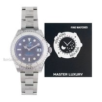 Rolex Yacht-Master 37 Steel 37mm Grey No numerals United States of America, New York, New York