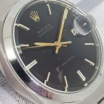 Rolex Ultra Rare Vintage Precision Dial Black Year 1966 Serviced