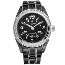 Perrelet Eve Steel 40mm Black Arabic numerals