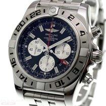 Breitling Chronomat GMT Steel 47mm Black No numerals