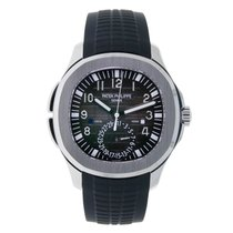 Patek Philippe Aquanaut Travel Time Stainless Steel Watch...