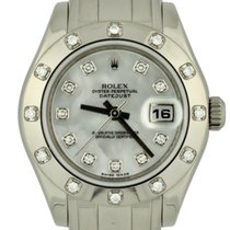 Rolex Lady-Datejust Pearlmaster White gold 29mm Mother of pearl Roman numerals United States of America, Georgia, Atlanta