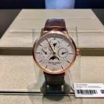 Frederique Constant Manufacture Slimline Perpetual Calendar Staal 42mm
