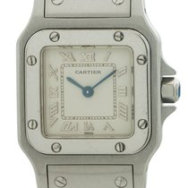 Cartier Santos Galbée Steel 24mm White Roman numerals United States of America, California, West Hollywood