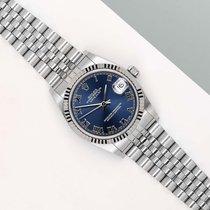 Rolex Lady-Datejust Goud/Staal 31mm Blauw Nederland, Maastricht