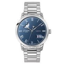 Glashütte Original Senator Panorama Date Moon Phase new Automatic Watch with original box and original papers 100-04-05-12-70