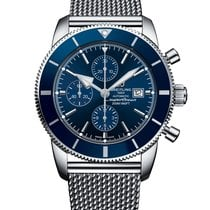 Breitling Superocean Héritage II Chronographe Steel 46mm Blue No numerals United States of America, New York, New York