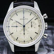 Zenith El Primero Chronomaster Steel 38mm Silver Arabic numerals United States of America, Massachusetts, Boston