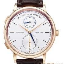 A. Lange & Söhne Saxonia Red gold 40mm Silver No numerals