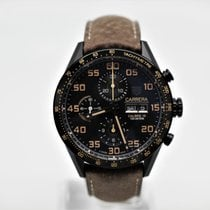 TAG Heuer Carrera Calibre 16 new Automatic Chronograph Watch with original box and original papers CV2A84.FC6394