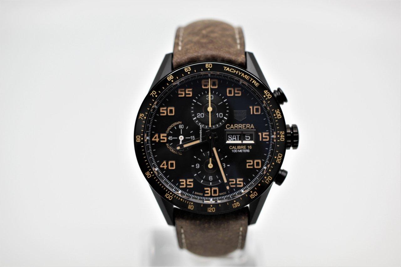 718088749dc TAG Heuer Carrera Calibre 16 Titanium - all prices for TAG Heuer Carrera  Calibre 16 Titanium watches on Chrono24